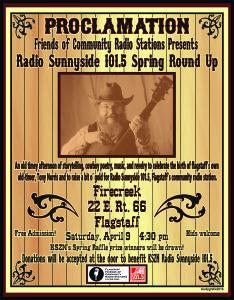 Tony Norris event poster